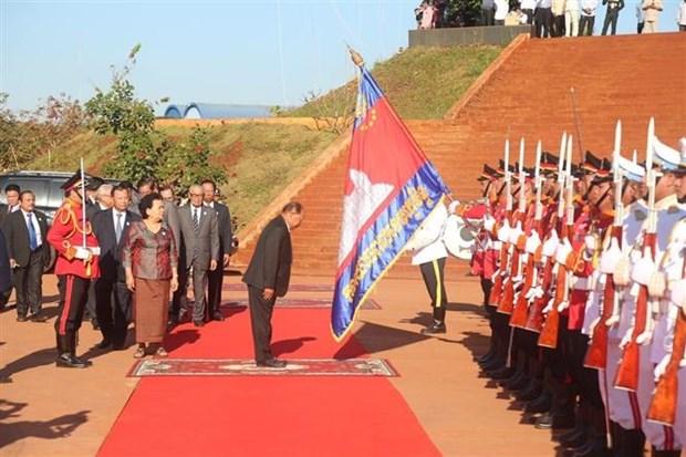 柬埔寨隆重举行柬埔寨救国民族团结阵线成立40周年庆祝活动 hinh anh 1