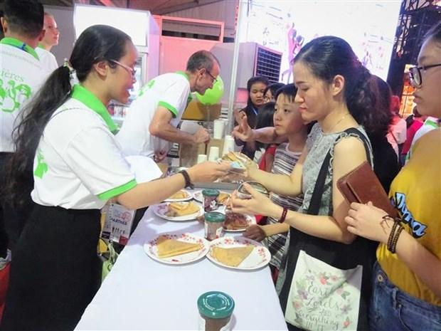 2018年法国美食节在胡志明市举行 hinh anh 2