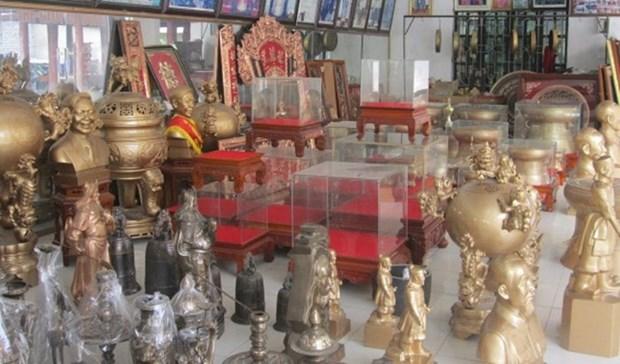 茶东村铸铜业被列入国家级非物质文化遗产名录 hinh anh 1