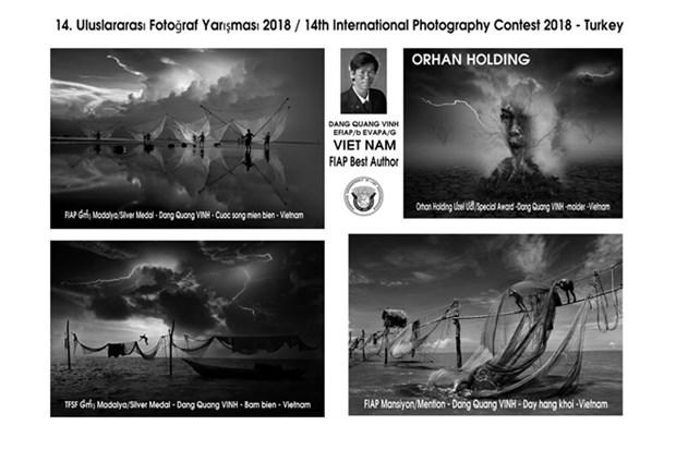 越南获得第十四届Orhan Holding国际摄影大赛的12个奖章 hinh anh 3