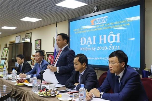 在俄越南企业协会迎难而上 共促发展 hinh anh 1