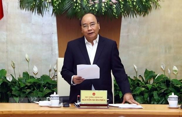 越南政府总理阮春福:力争2019年经济增速达到6.8% hinh anh 1