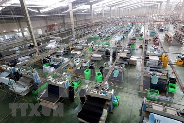 全国工业生产指数同比增长10% hinh anh 1