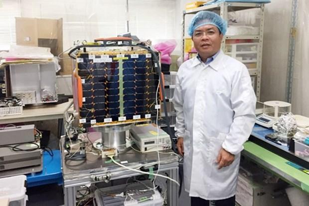 """越南自主研制的 """"微龙""""号卫星于明年1月在日本发射 hinh anh 2"""