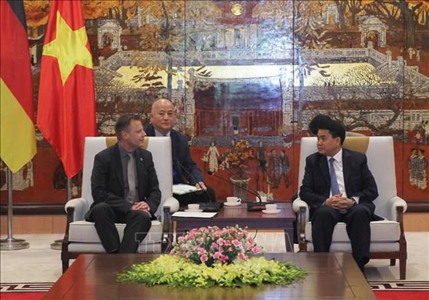 越南与德国深化合作关系 共谋未来发展 hinh anh 1
