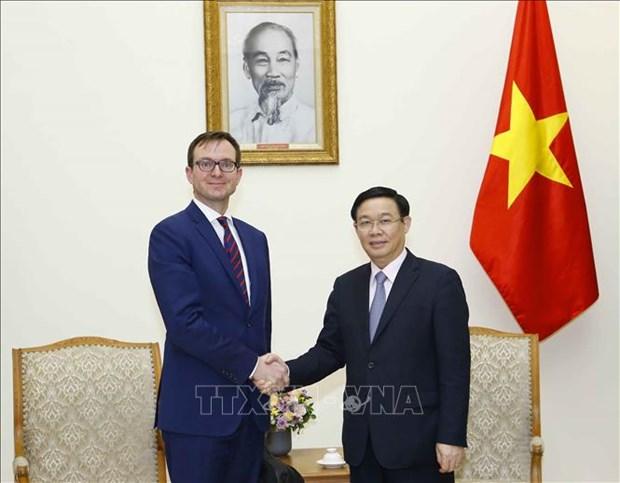 越南政府副总理王廷惠:越南重视与OECD的合作 hinh anh 1