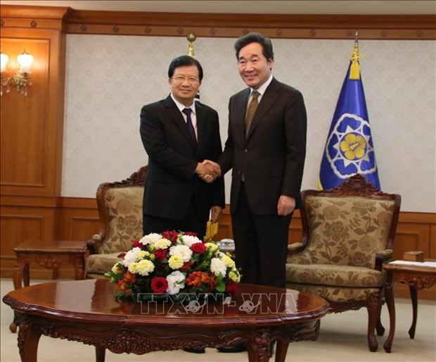 政府副总理郑廷勇:越南一向重视与韩国的关系 hinh anh 1