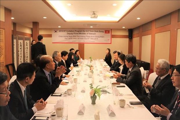 政府副总理郑廷勇:越南一向重视与韩国的关系 hinh anh 2