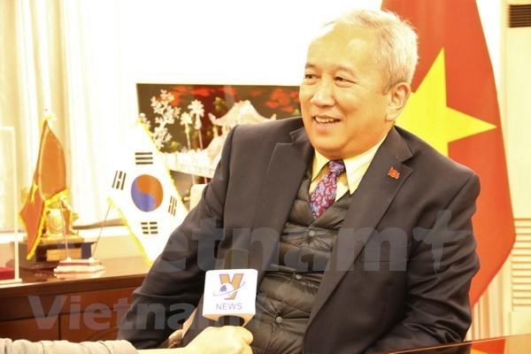越南与韩国在多个领域的合作关系发展强劲 hinh anh 1