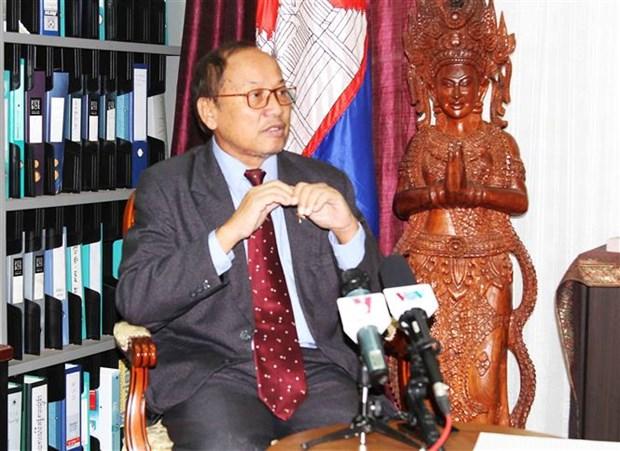 柬埔寨领导:柬越关系继续不断向前发展 hinh anh 2