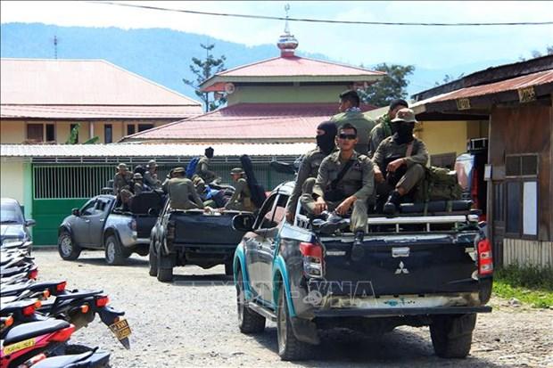 印尼巴布亚袭击导致31名工人死亡 hinh anh 1