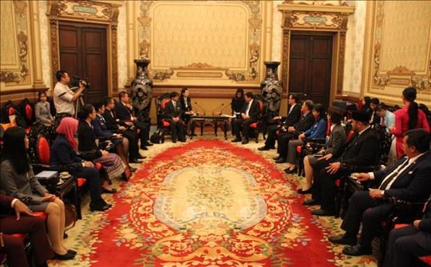 加强日本与东南亚各国青年的团结协作 hinh anh 1