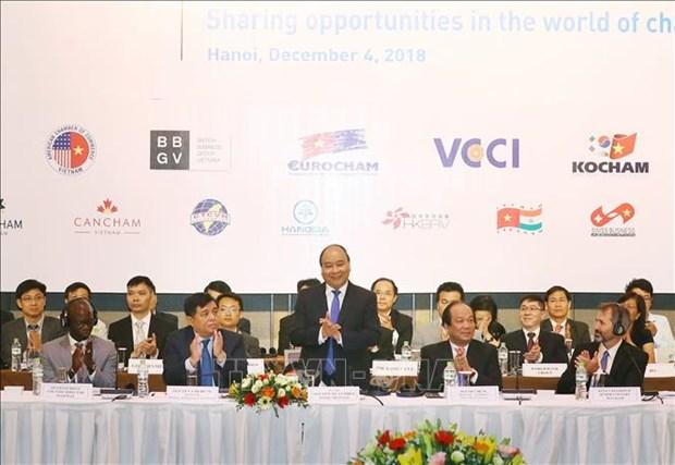VBF 2018: 越南网络安全问题吸引外国企业的特别关注 hinh anh 1