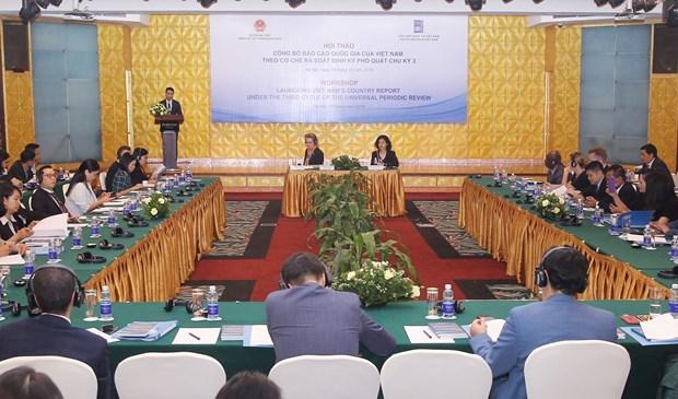越南《国家人权报告》:越南一向充分贯彻落实相关义务和承诺 hinh anh 1