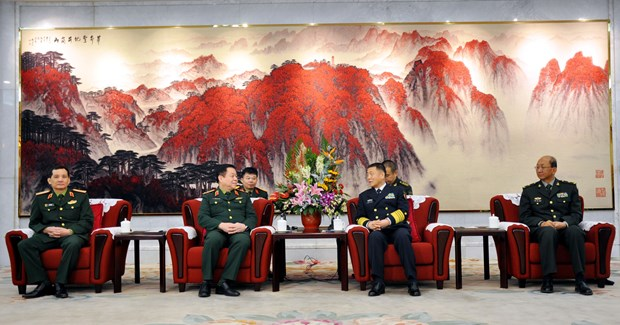 越南人民军总政治局与中共中央军委政治工作部进一步加强合作 hinh anh 2