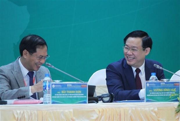 2018年 越南融入世界经济论坛在河内举行 hinh anh 2