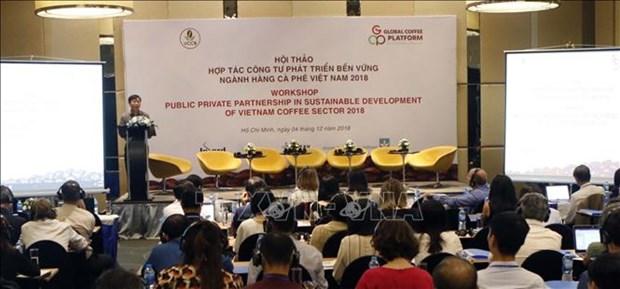 加强公私合作促进咖啡产业可持续发展 hinh anh 1