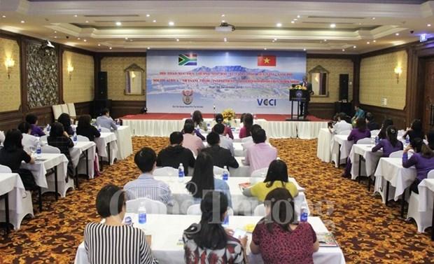越南与南非力争2019年双边贸易额可达20亿美元 hinh anh 1