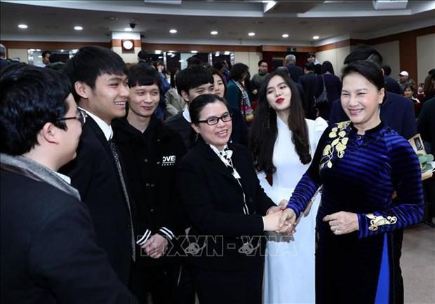 韩国媒体纷纷报道越南国会主席访韩之旅 hinh anh 1
