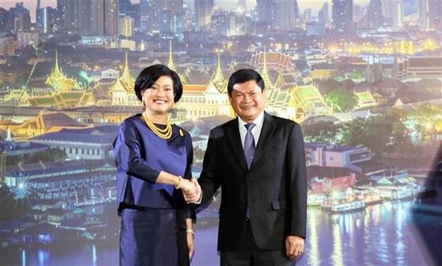 胡志明市与泰国加强友好合作关系 hinh anh 1