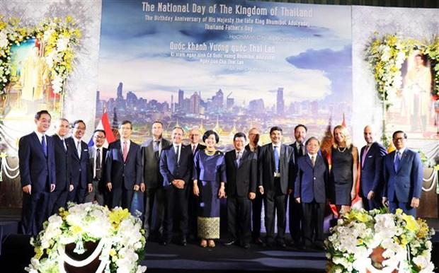 胡志明市与泰国加强友好合作关系 hinh anh 2