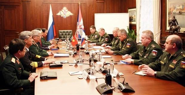 第四次越南与俄罗斯国防战略对话在俄罗斯举行 hinh anh 1