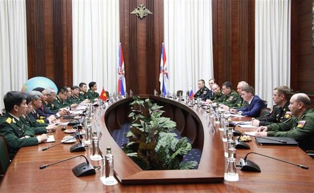 第四次越南与俄罗斯国防战略对话在俄罗斯举行 hinh anh 2