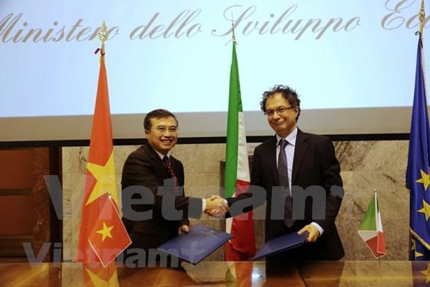 越南与意大利面向发展务实有效的经济合作 hinh anh 3