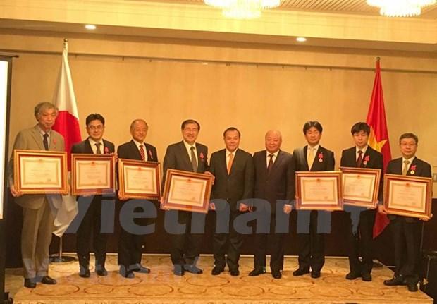 日本国立医疗研究中心荣获越南一级劳动勋章 hinh anh 1
