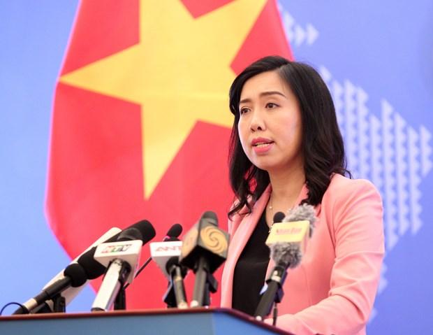 外交部例行新闻发布会:越南保障人权方面取得突出成就 hinh anh 1