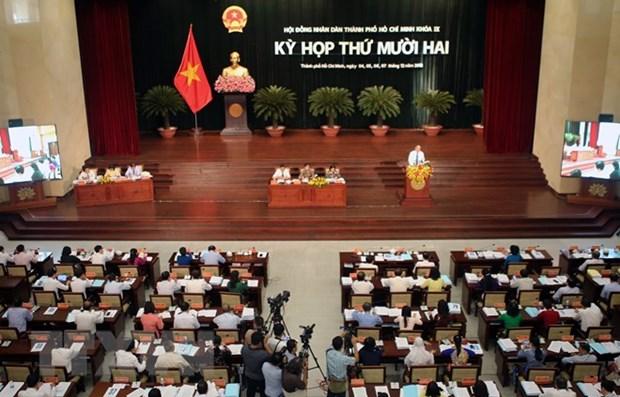 胡志明市努力推动经济社会发展和民生改善 hinh anh 1