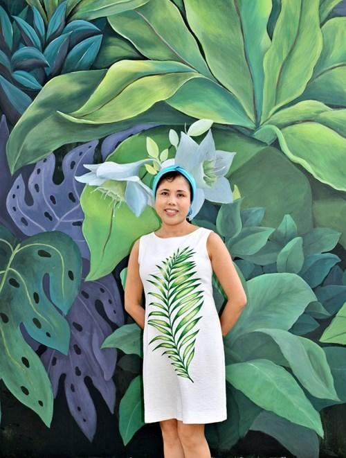 阮秋水画家继续设计巨型壁画作品 hinh anh 1