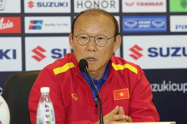 "AFF Suzuki Cup 2018:韩媒称赞越南球队主教练朴恒绪的""魔术"" hinh anh 1"