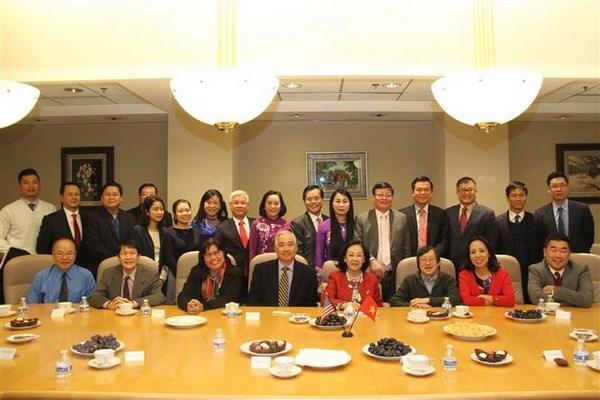 越南共产党代表团访问美国 hinh anh 1