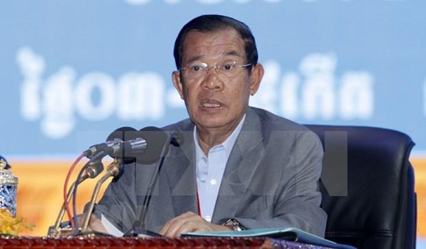 柬埔寨首相洪森对越南进行正式访问 hinh anh 1