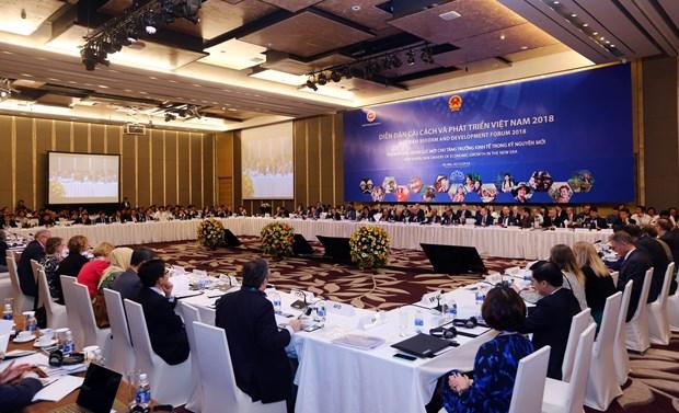 越南改革与发展论坛:新纪元中越南经济增长的新动力 hinh anh 1