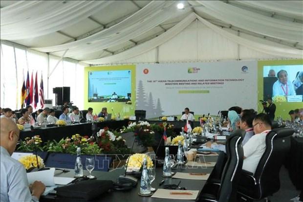 东盟各国加强信息技术与电信合作 hinh anh 1
