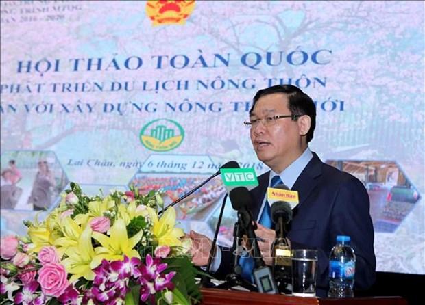 王廷惠副总理:乡村旅游发展中应关注社区利益 hinh anh 1