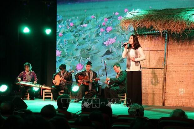 2018年越法文化艺术交流活动在胡志明市举行 hinh anh 2