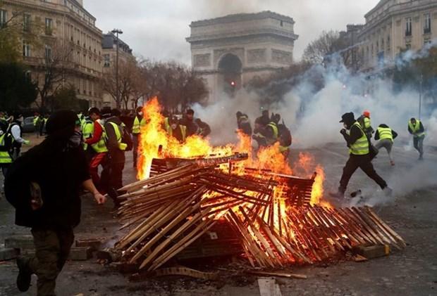 越南外交部发言人:未收到有越南公民在法国游行示威活动中受影响的报告 hinh anh 1