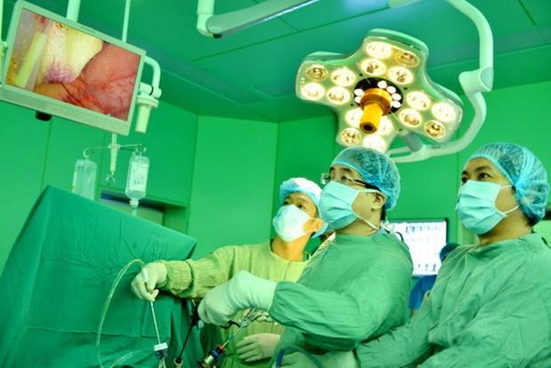 越南内窥镜手术培训中心被公认为亚洲最佳中心之一 hinh anh 1
