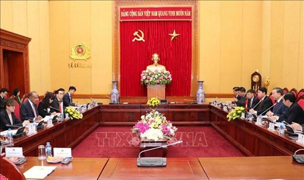 越南与新加坡续签《预防和打击跨国犯罪合作协议》 hinh anh 2