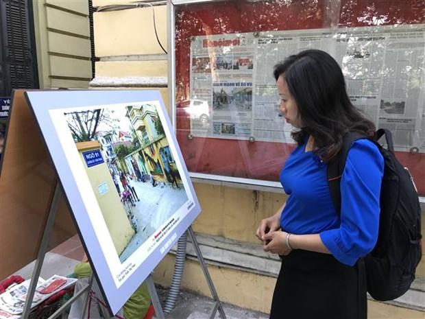 """17个作品获得""""2018年优雅文明的河内人形象""""摄影奖 hinh anh 2"""