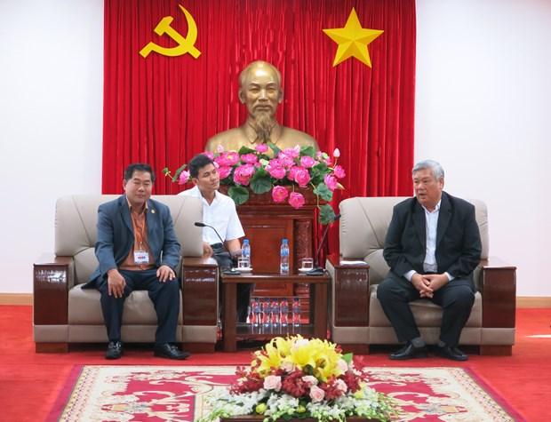 柬埔寨宗教事务部代表团对越南平阳省进行工作访问 hinh anh 1