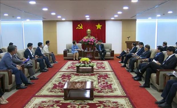 韩国企业盛赞越南平阳省的投资环境 hinh anh 1