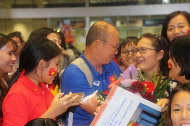 AFF Suzuki Cup 2018:越南驻马来西亚大使给越南国足打气助威 hinh anh 1