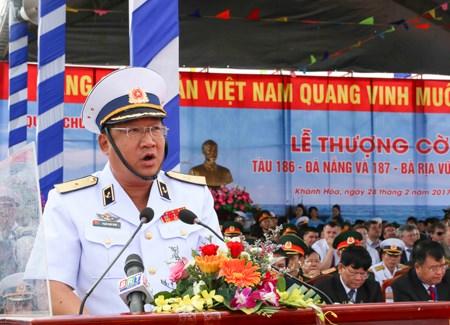 越南海军高级代表团访问印度 hinh anh 1