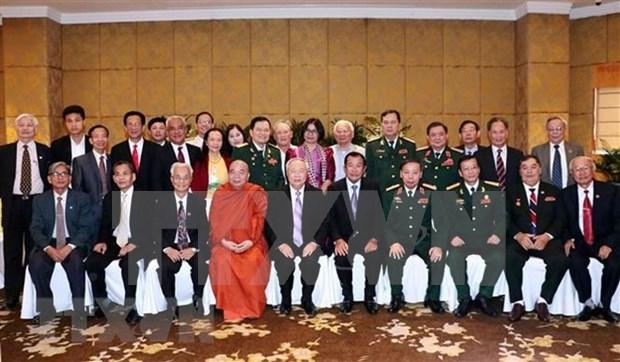 促进越南与柬埔寨民间交流活动 hinh anh 1