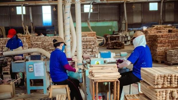 2018年前11月越南林产品贸易顺差超过64亿美元 hinh anh 1