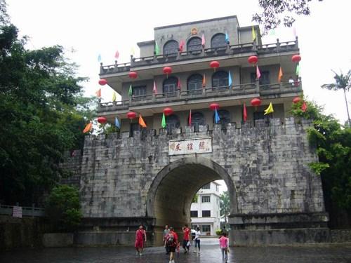 中国广西壮族自治区实施境外旅客购物离境退税政策 hinh anh 1